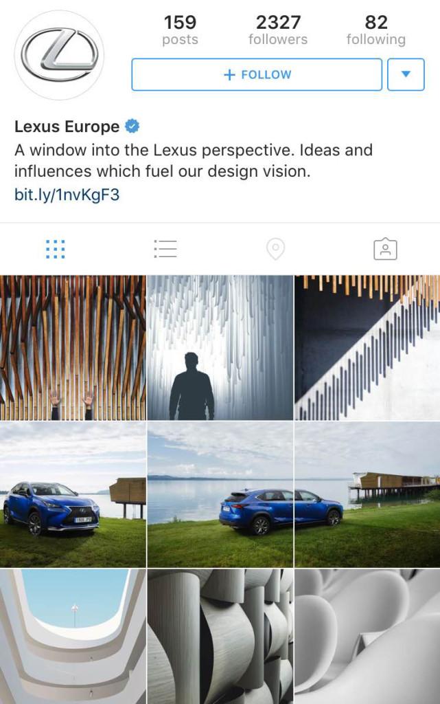 Lexus Launched a New Instagram Page Using EyeEm Photos | EyeEm